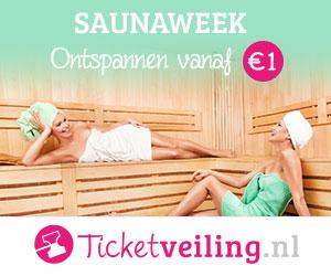 TicketVeiling Sauna en Wellness