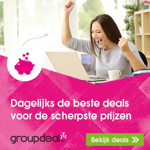 Klik hier voor de korting bij Groupdeal.nl