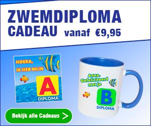 Ontwerp online de leukste zwemdiploma cadeaus. Watzalikkopen.nl