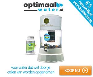water filteren, ioniseren en vitaliseren