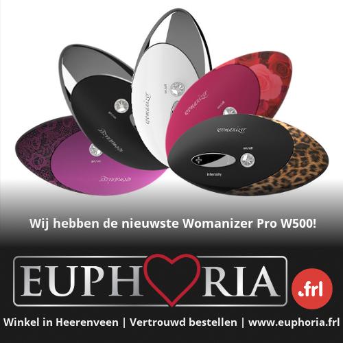 De allernieuwste Womanizer met 12 standjes koop je bij erotiekwinkel Euphoria uit Heerenveen.