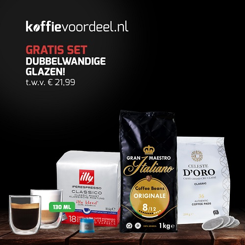 Koffievoordeel.nl – Kies een cadeau