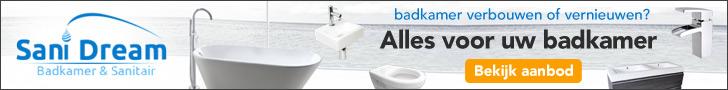 Sanidream alles voor uw badkamer
