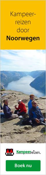 Kampeerreizen Noorwegen