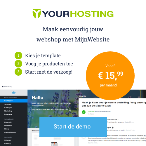 webwinkel maken
