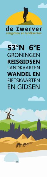 Reisboekwinkel de Zwerver Reisgidsen, Landkaarten, Wandel en Fietskaarten
