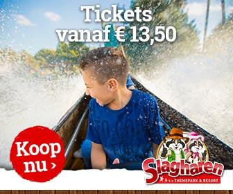 Online tickets slagharen 13.50