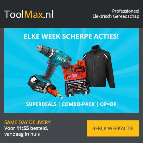 Toolmax.nl – Gratis accu bij Makita Combisets