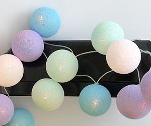 Cotton Ball Lights Lichtslinger