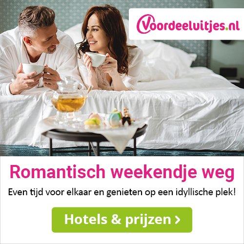 Voordeeluitjes.nl Boek in Juni en ontvang een Gratis Canvasdoek
