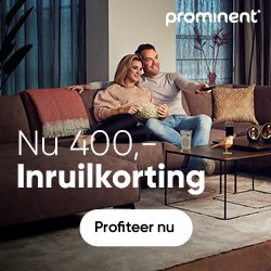Prominent €650 jubileumkorting
