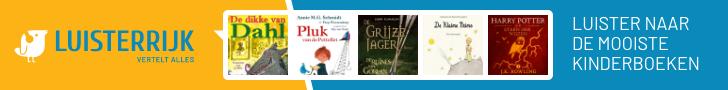 Luister naar de mooiste kinderboeken bij Luisterrijk!