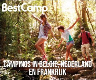 Topcampings in België, Nederland en Frankrijk