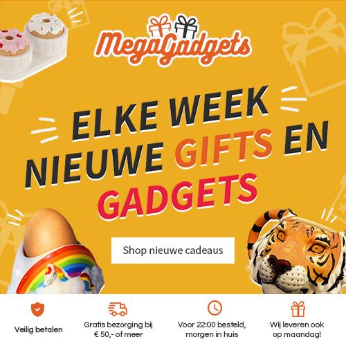 Elke week nieuwe gadgets!   MegaGadgets