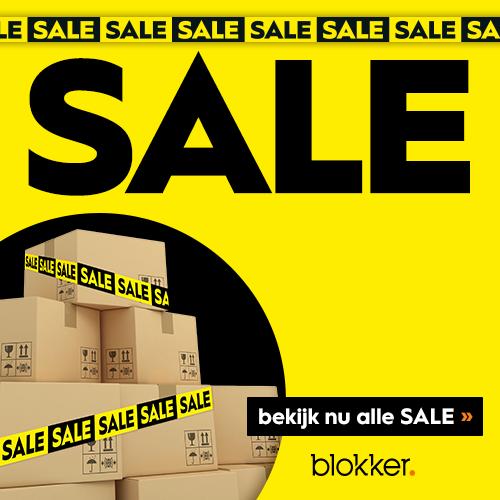 Uitverkoop Blokker