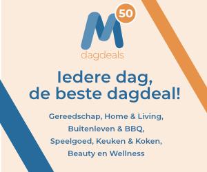 Klik hier voor de korting bij m50.nl