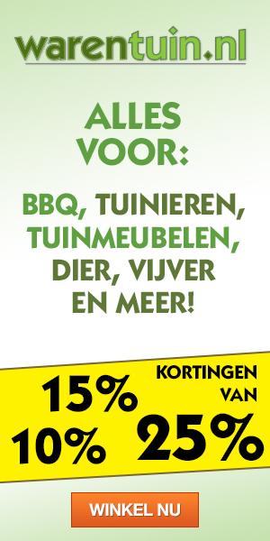 het grootste online tuincentrum van Nederland, met een breed assortiment aan artikelen.