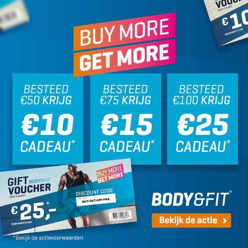 body&fit gratis kruidnoten bij bestelling