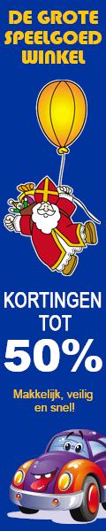 Kortingen tot wel 50% op je Sinterklaas cadeau's