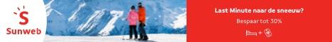 Wintersport vroegboeken bij Sunweb