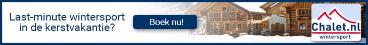 plaatje van aanbiedingen bij reisorganisatie Chalet.nl