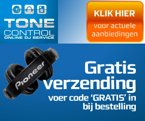 Gratis verzending van DJ gear bij ToneControl.nl