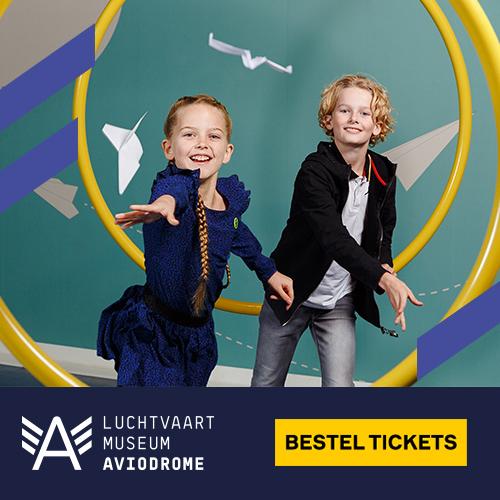 Klik hier voor de korting bij Aviodrome.nl