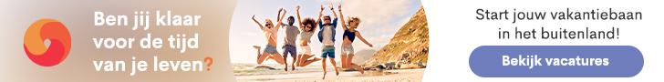 Start jouw vakantiebaan in het buitenland! Bekijk de vacatures.