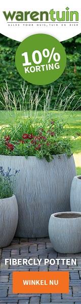 In heel veel tuinartikelen is Warentuin de goedkoopste van Nederland!