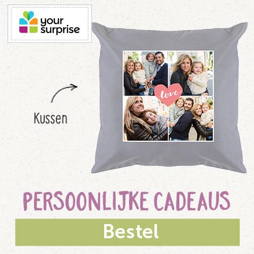 Your Surprise 500 x 500 Kussen