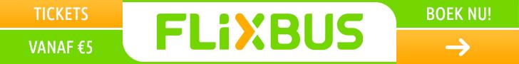 FlixBus busreizen en buspendels goedkoop