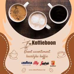 Klik hier voor de korting bij Dekoffieboon.nl