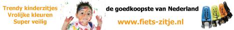 Vrolijke fietsstoeltjes het goedkoopst bij Fiets-zitje.nl