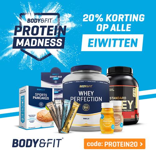 body en fit gratis repen bij product
