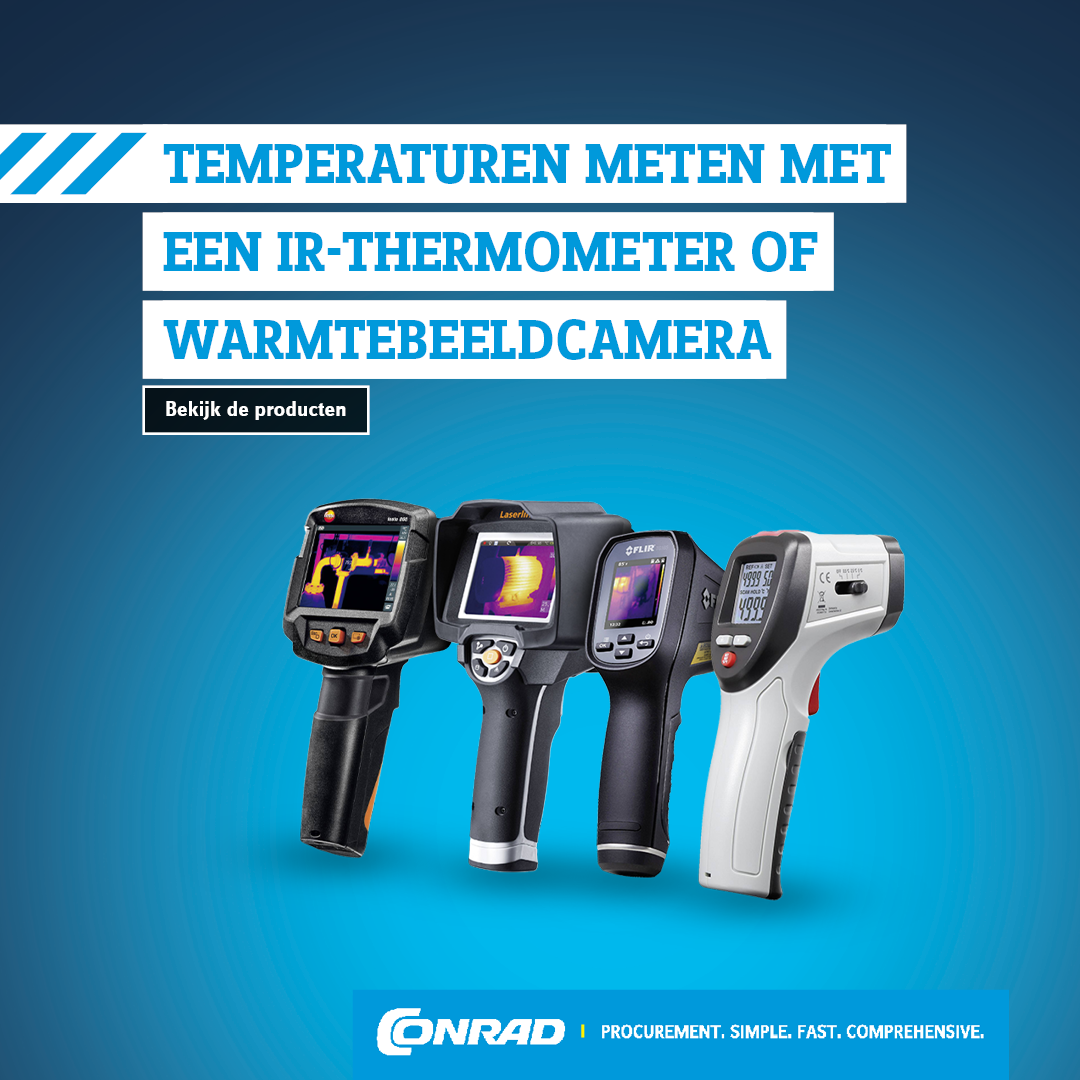 Temperaturen meten met een IR-thermometer of warmtebeeldcamera