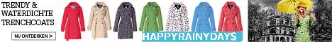 Trendy waterdichte trenchcoats