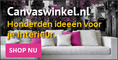 Canvaswinkel.nl: je eigen foto op je canvas!