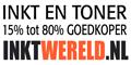 inktwereld heeft inkt en tonercartridges 50 - 80 % goedkoper
