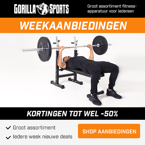 Gorilla Sports: Weekaanbieding