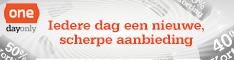 Klik hier voor de korting bij Onedayonly.nl