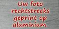 foto afgedrukt op aluminium