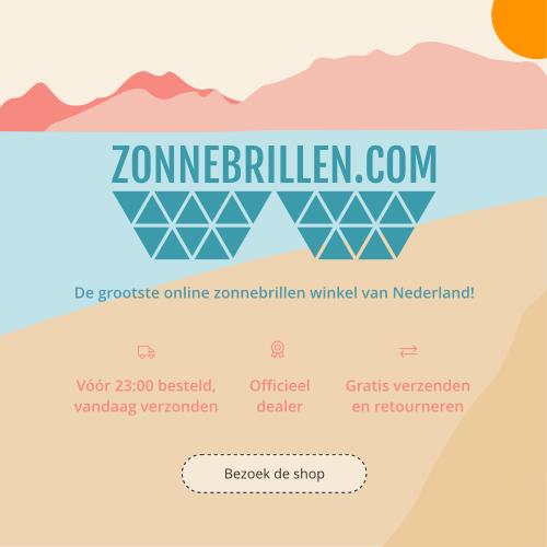 Meet the new zonnebrillen.com - €10 korting bij besteding vanaf €100