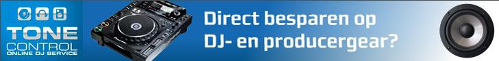 Direct besparen op DJ gear bij ToneControl.nl