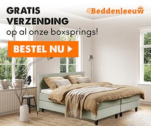 Klik hier voor de korting bij Beddenleeuw.nl