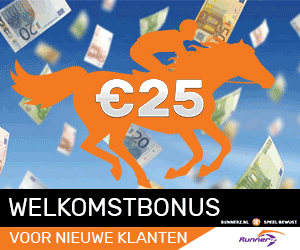 Runnerz.nl - wedden op paarden - €10 welkomstbonus!