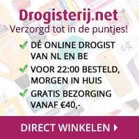 Klik hier voor de korting bij Drogisterij.net