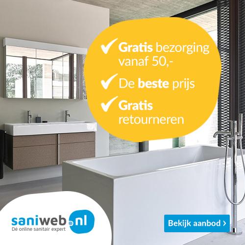 Saniweb.nl – Tot 10% korting op sanitair