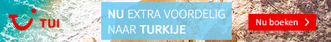 Goedkoop naar Turkije met TUI