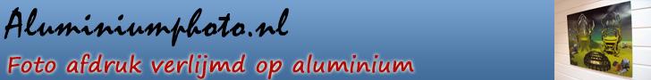 Foto verlijmd op aluminium