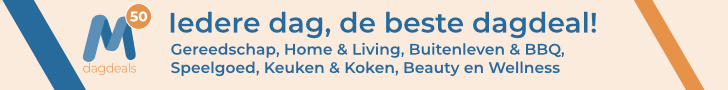 M50.nl - MEGA producten met minimaal 50% korting!